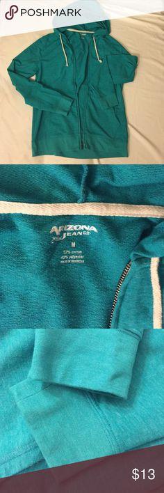 Arizona Jean Co New M Green Hooded Sweatshirt Brand new never worn Arizona Jean Company Shirts Sweatshirts & Hoodies