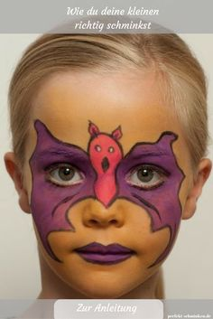 Make up your little one for the mouse # costume - Karneval Kindergeburtstag - Catworld Natural Hairstyles For Kids, Hairstyles For Round Faces, Little Girl Hairstyles, Diy Hairstyles, Ghost Costumes, Diy Costumes, Halloween Costumes, Diy Carnival, Mouse Costume