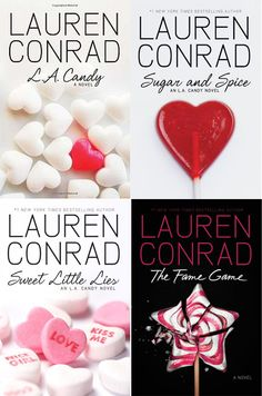 Lauren Conrad books, minus Style and the newly announced Beauty.