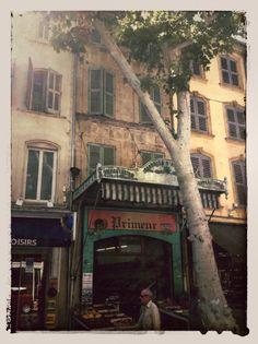 Vintage Salon-de-Provence. Shot in 2013!