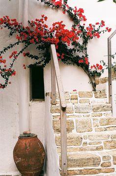 House in Folegandros island
