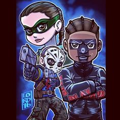 "Lordmesa Art — ""New Recruits"" Can't wait to see @echokells..."
