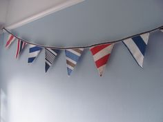Flag banner - DIY ideas.