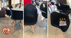 #scaune noi de #AnulNou #🍾 #🤩 #💖 . ULTIMELE BUCĂȚI - design #scandinav la #Gobilier. 209 lei bucata #promo de #craciun -10%. Expus în #showroom #manastur, livrare direct din magazin. #☎️ 0748048048 #📩 contact@gobilier.ro Lei, Eames, Furniture Decor, Showroom, Chair, Design, Home Decor, Decoration Home, Room Decor
