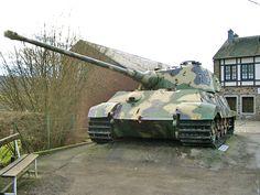 Tiger II at La Gleize