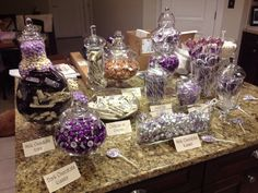 Candy bar! Purple and white/silver