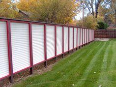 backyard privacy fences- use lattice panels instead??