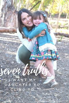 Mama Loves Little 7thrutha I want my daughter to cling to. Parenting daughters
