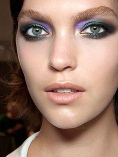 Multi-color jewel toned eyes