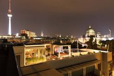 Monbijou Penthouse with rooftop and jacuzzi à Berlin, Berlin, Allemagne