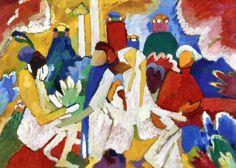 The Athenaeum - Oriental (Wassily Kandinsky - )