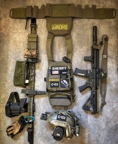 Military Gear, Military Equipment, Police Duty Gear, Tactical Solutions, Battle Belt, M4 Carbine, Tactical Wear, Airsoft Gear, Tac Gear