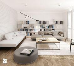 Salon styl Skandynawski - zdjęcie od LAVA Projektowanie Wnętrz