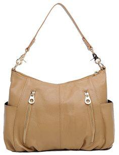 Hereby Kuer(R) Ladies' Soft Tote Top Handle Shoulder Bag Cross Body Handbag satchel Purse