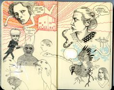 ILLUSTRATION JOURNAL - Magda Boreysza