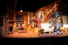 On Golden Pond. Contemporary Theatre of Dallas. Set design by Rodney Dobbs. 2008