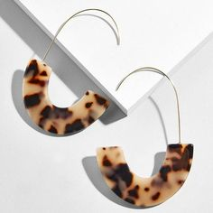 Resin Acrylic Metal Drop Earrings Women Geometric Big Dangle Earring Party Statement Wholesale Factory Jewelry - Miss. Shell Earrings, Circle Earrings, Statement Earrings, Women's Earrings, Marie Antoinette, Creole Argent, Acrylic Resin, Ring Verlobung, Summer Jewelry