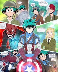 Anime Crossover, Fandom Crossover, My Hero Academia Memes, Hero Academia Characters, My Hero Academia Manga, Fictional Characters, Dark Elf, Chibi, Boku No Hero Academy