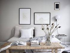 edg35a greydeco4 Interior Work, Interior Design, Apartment Listings, End Of Summer, Design Agency, Scandinavian Design, Throw Pillows, Living Room, House