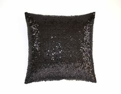 PILLOW COVER Our sequin pillow is a perfect addition if youre looking to add some sparkle to your living room, bedroom, den or any room. Great for everyday use as well as Thanksgiving, Christmas and New Years, or for your wedding/party lounge decor! The front fabric and back fabric is black sequin. ***Also comes in Champagne, Gold, Ivory, Baby Pink, Blush, Red or Gunmetal Silver taffeta sequin fabric.*** - Pillow cover is made with taffeta sequin. - Zipper closure for a finished look....