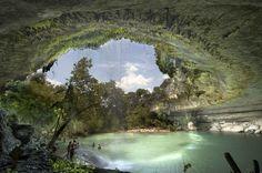 Hamilton Pool Nature Preserve, Dripping Springs, Texas, USA