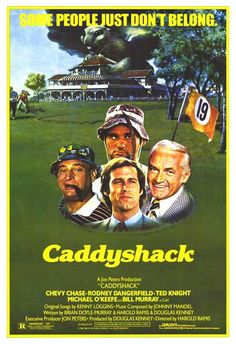 100 Greatest Films AFI posters | CADDYSHACK MOVIE POSTER, Top 100 Film Poster