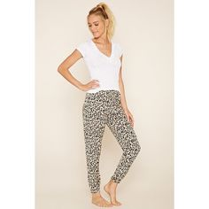 f81dbf8baf Forever 21 Women s Animal Print PJ Pants featuring polyvore