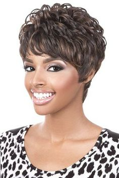 Motown Tress Human Hair Short Wig Diana On Sale