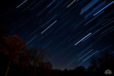 Star Trails - Meteor Shower by photoman356, via Flickr