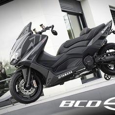 TMAX-530-BCD-DESIGN Yamaha Scooter, Scooter Motorcycle, Moto Bike, Tmax Yamaha, Yamaha Nmax, Custom Motorcycles, Cars And Motorcycles, My Dream Car, Dream Cars