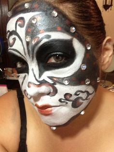Extreme Halloween Makeup by Luna Designs Boutique...located in Holyoke Ma 413 322-9338