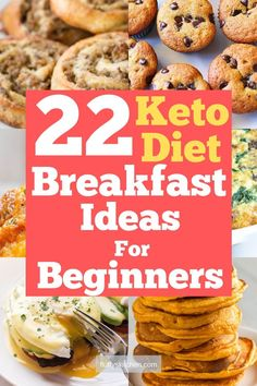 Here's 22 keto diet breakfast ideas for beginners looking to start their keto journey the right way. These breakfast recipes are easy to make and tasty! Low Carb Keto, Low Carb Recipes, Cooking Recipes, Vegetarian Cooking, Breakfast Ideas, Breakfast Recipes, Breakfast Dishes, Breakfast Casserole, Sweet Crepes Recipe