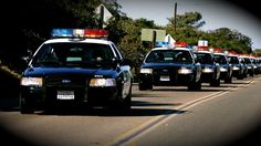 Ford Crown Vic Police Cars