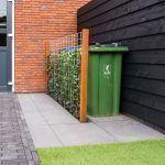 Modern garden back yard patio designs Modern garden garden modern Back Gardens, Small Gardens, Outdoor Gardens, House Gardens, Modern Gardens, Terrasse Design, Patio Design, Modern Storage Boxes, Bin Storage