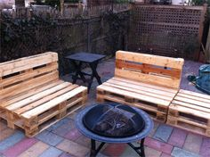 outdoor furniture made from pallets 36