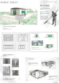 Mr.  CLEAN ...environment design  PUBLIC TOILETS by djames