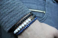 Lucky bracelets SET Unisex Mala Prayer Beads Buddha Bracelets & Bangles Men Classic Women's Fashion Yoga Jewelry Natural Stones Lucky Gifts by catlovershop on Etsy