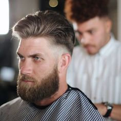 37 Modern Bryce Harper Haircut Style Ideas For Mens That Looks More Handsome Cool Haircuts, Haircuts For Men, Men's Haircuts, Bryce Harper Haircut, Hair And Beard Styles, Short Hair Styles, Braids With Fade, Casual Curls, Slicked Back Hair