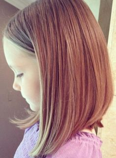 The Long Bob hairstyles for kids