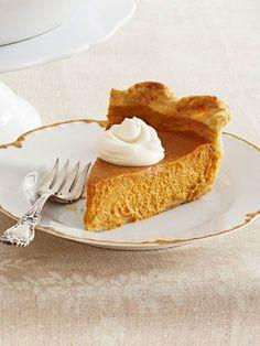 Spiked pumpkin pie — what a genius idea.