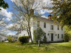 Renee's 39-acre, 1770's farm, The Cotton Tavern, is a Colonial-style home is over 3,400 square feet with three bedrooms, seven fireplaces, a wood-paneled library, swimming pool, country kitchen, guest home, 2,000-square-foot barn, post-and-rail fence, stone walls and lush gardens with views of the Quinebaug River.