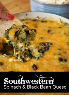 Joe's Spicy Spinach Queso