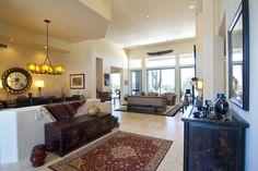A beautiful interior design for this living room featuring Authentic Durango Veracruz floor tile.
