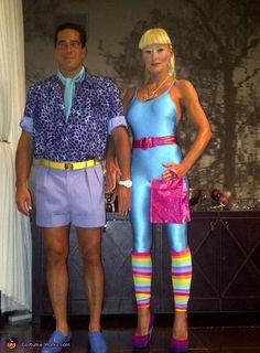 Ken and Barbie from Toy Story 3 - DIY Halloween Costume