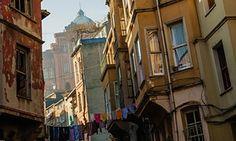 Balat district of Istanbul, Turkey