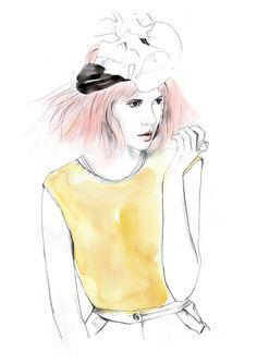 The beautiful talents of Sarah Hankinson for culture Magazine www.sarahhankinson.com