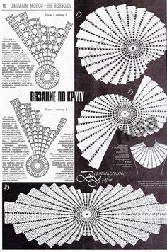 Crochet Beauty doily pattern is versatile, because you can make it in different shapes; but, it's in Russian language, Discover thousands of imaFractal crochet centerpiece doily makes unique statement. Discussion on LiveInternet - Russian Service On Crochet Doily Diagram, Crochet Doily Patterns, Crochet Chart, Thread Crochet, Crochet Motif, Irish Crochet, Crochet Stitches, Knitting Patterns, Filet Crochet