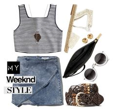 """""""Weekend Style"""" by ivansyd ❤ liked on Polyvore featuring STELLA McCARTNEY, BELGO LUX, Apiece Apart, Michael Kors, Abercrombie & Fitch, Monique Péan, Blue Nile, women's clothing, women's fashion and women"""