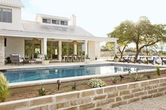 When Summer takes place the swimming pool becomes a hot topic. If you have a large area in your backyard or in front of a house, you might consider having a swimming pool. Swimming Pools Backyard, Swimming Pool Designs, Backyard Landscaping, Backyard Ideas, Modern Backyard, Backyard Designs, Lap Pools, Indoor Pools, Modern Pergola