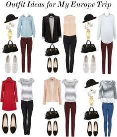 """""""Outfit Ideas for Europe III"""" by claudinemedina on Polyvore:"""